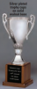 "OCT347C - 14"" Silver Plated Trophy Cup"